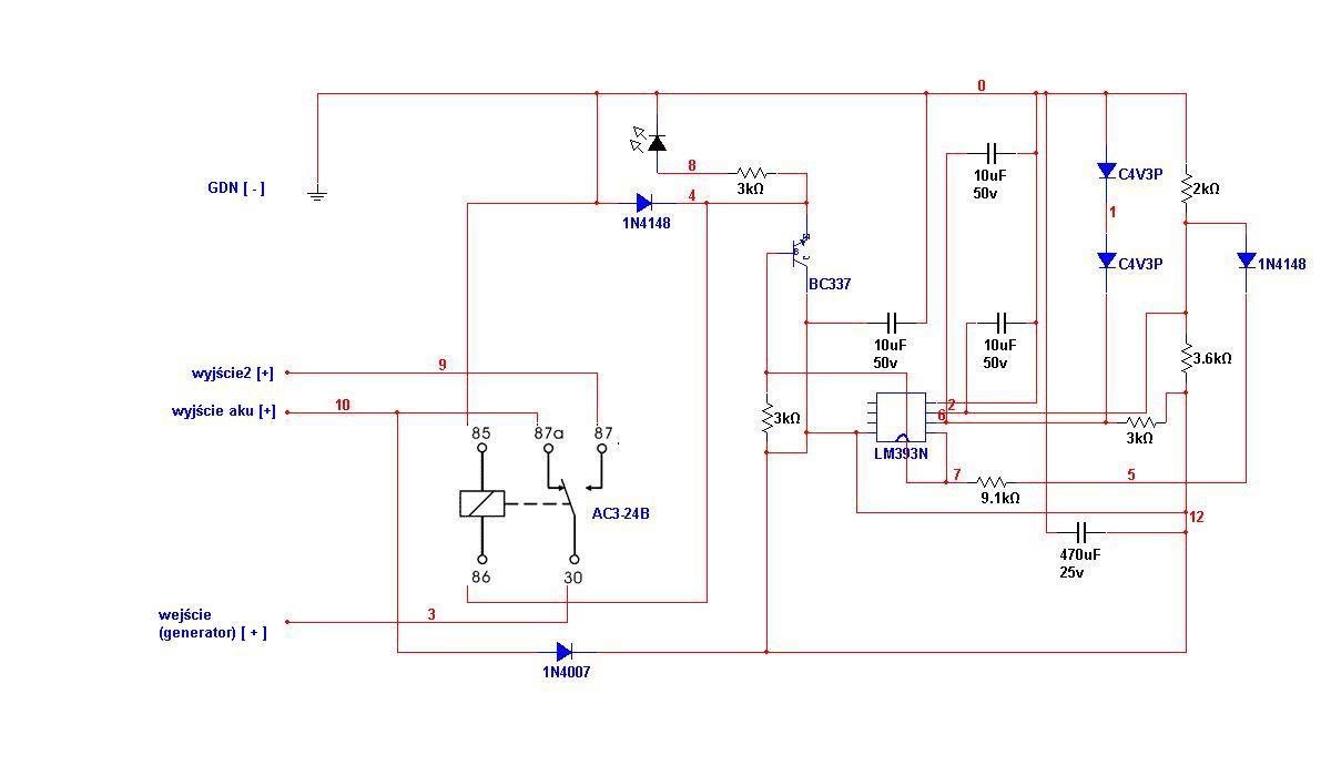 Regulator �adowania 24V-30A przer�bka na 50/60A