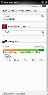 Lenovo G510 - AMD R7 m265 grafika nie przełącza się
