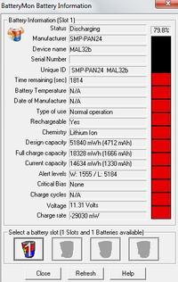 Gateway MA7 // bateria 6MSBG SQU-412