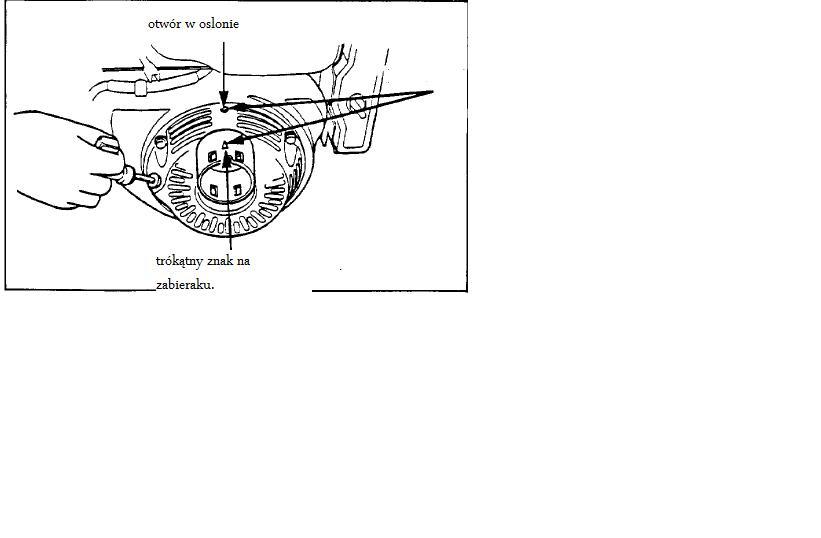 Regulacja zawor�w w silniku Honda GX390