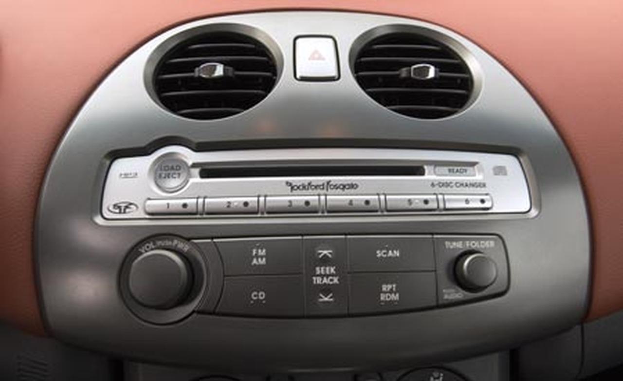 Mitsubishi Eclipse GT 2006 - zmiana strojenia radia z USA na Europ�