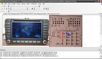 VW Touareg Radio mdfII Navi - Odczyt kodu z fis