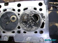 Renault 21/poj 1700/r1992/F2NW754 - Pęknięcie paska rozrządu
