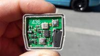 Toyota Yaris 1.0 2000 - Pilot centralnego zamka nie działa OE, nie świeci dioda