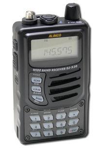 Alinco DJ-X30T, DJX30T Instrukcja EN