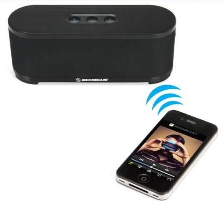 Scosche boomSTREAM - przeno�ny minisystem g�o�nikowy Bluetooth 2.1 A2DP