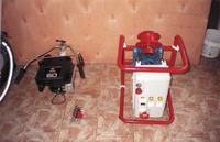 Prądnica Asynchroniczna z silnika klatkowego