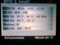 Navi VW Radio Navigation System MFD i teleatlas