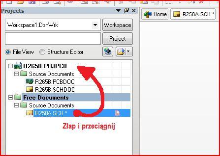 Protel dxp problem z kompilacja