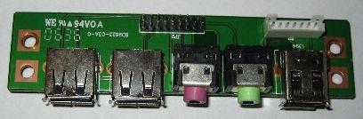 Wiązka komputerowa - audio, USB , FireWire
