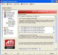 Daewoo dlt37g1 Radeon HD4870. Problem z uzyskaniem 1366x768.