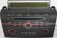 Mazda 3 Multifunction audio system opisy kostek