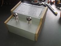 Hybrydowy wzmacniacz słuchawkowy w klasie A, ECC88