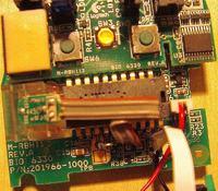 Mysz Logitech G7 (laserowa, bezprzewodowa) po upadku...