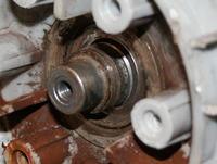 Pralka Whirlpool AWT 7125 - wyjmowanie rozsypanego łożyska