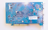Geforce'a GF 6600GT AGP Gigabyte-wartość kondensatora C544