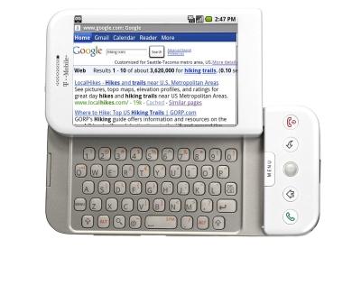 Android w kieszeni ( T-Mobile G1)