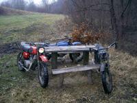 Motocykl Jawa/Cz 350 na crossa