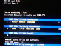 Maxtor model 4D040H2 - DSP , jest już Romulus.