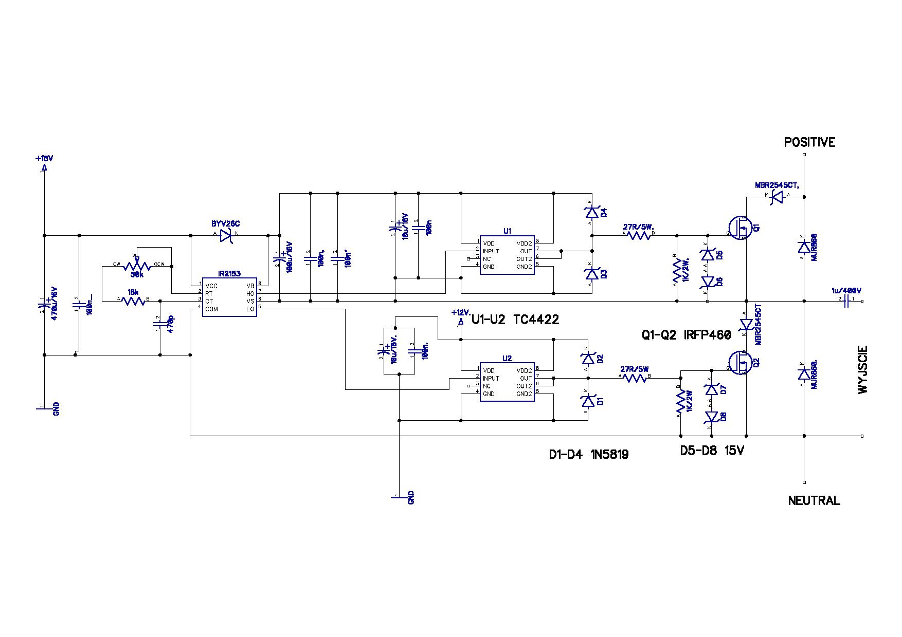 Tc4422 Microchip High Speed Mosfet Drivers Datasheet Nagrzewnica Indukcyjna 1 Kw 7 Elektrodapl