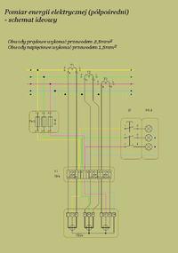 Podłączenie licznika 3 fazowego Pafal C52ad