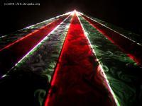 Projektor laserowy RGB o mocy pół wata