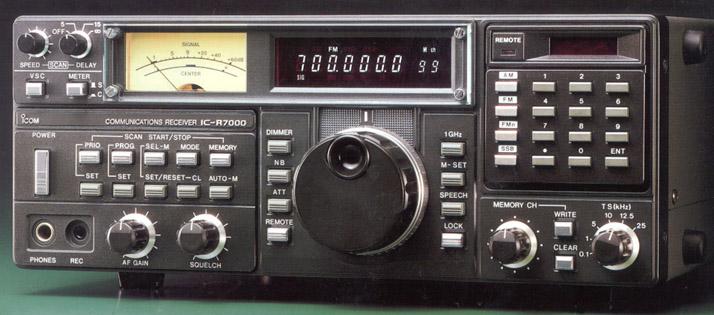 Icom IC-R7000, ICR7000 Instrukcja EN