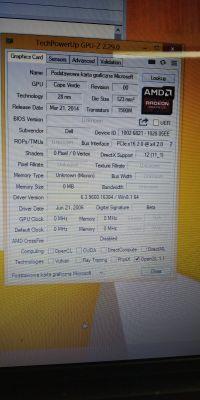 Czarny ekran Dell Inspiron 17R 5737