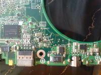 BENQ P52 brak podświetlenia matrycy i pali bezpiecznik na płycie.