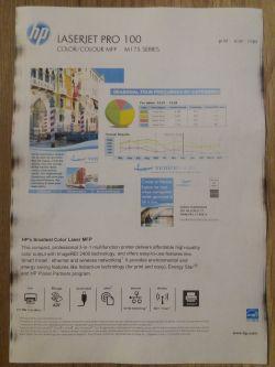 HP/mf 175NW - brudzi krawędzie kartek nie mogę zlokalizować przyczyny