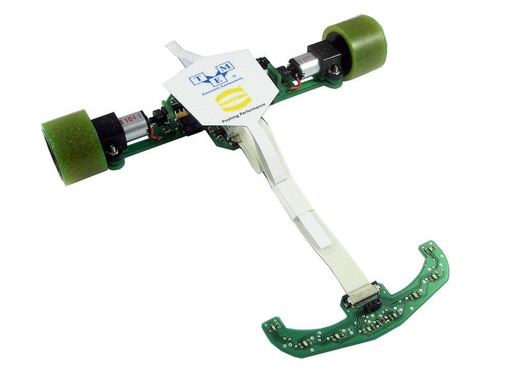 Robot klasy LineFollower - Lajt