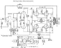 Schemat wzmacniacza lampowego o mocy 100W