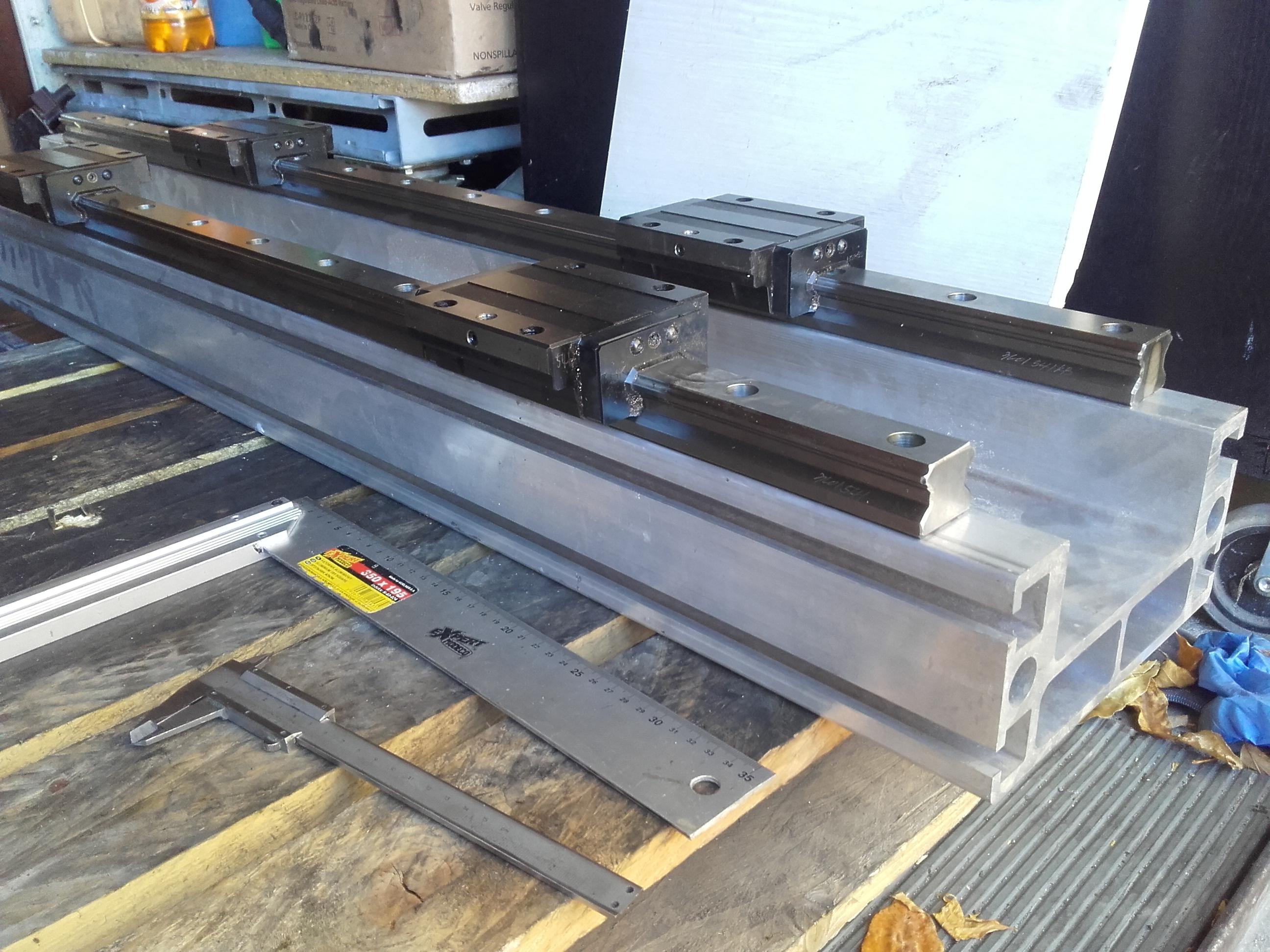 Rewelacyjny Sprzedam] Grube profile aluminiowe CNC C beam - elektroda.pl CC76