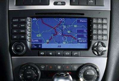 Mercedes W203 - Problem z wprowadzeniem Navi Comand w tryb cd download