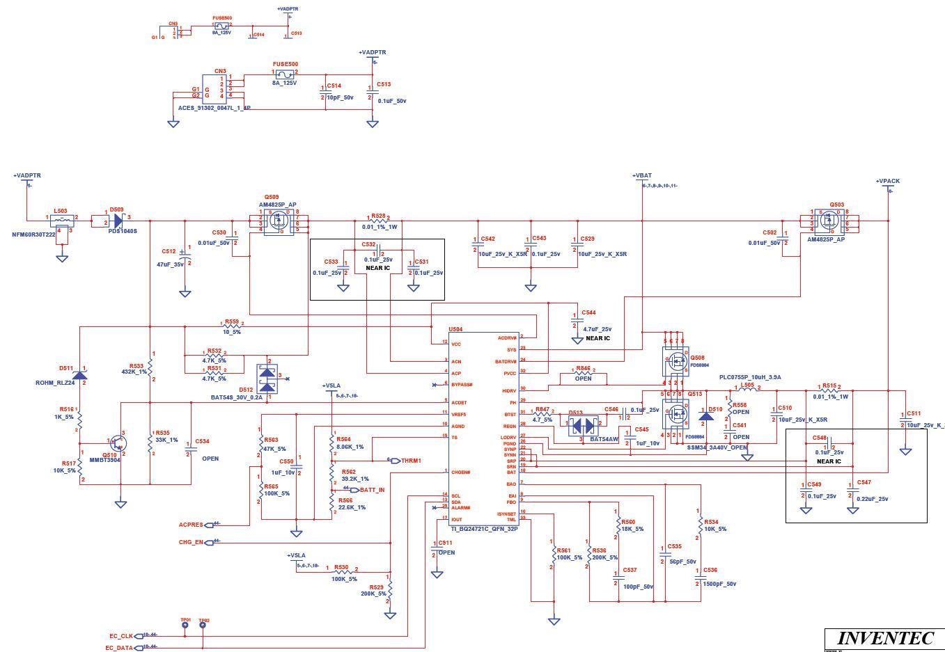 Toshiba L300D - miga dioda w zasilaczu- martwy