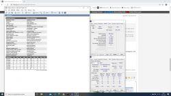 Overclocking pamięci ram w laptopie z odblokowanym Advanced Settings.