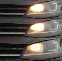 VW Golf Variant 7 - Żarówki świateł do jazdy dziennej a postojowe