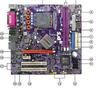 Przedni panel audio/usb do płyty głównej ECS 410l/800-m