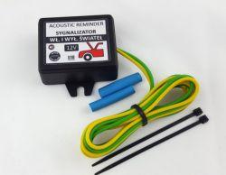 Matiz - Podłączenie sygnalizatora Wł / Wył świateł