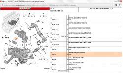 Citroen C4 1.6HDI DV6C - Pomiar pozycji By-passu wymiennika EGR Brak wtyczki