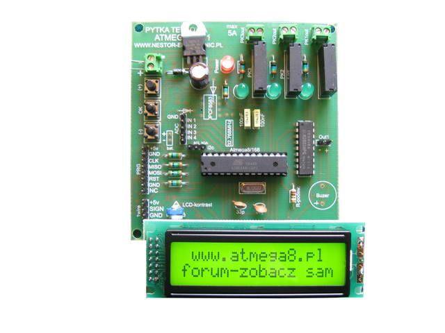[Sprzedam] Modu� ATMEGA8 Nestor (plus RTC i dodatkowy procesor)