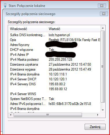 Sony 40ex720, przewodowe pod��czenie do internetu
