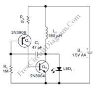 Różne warianty przetwornicy do latarki z diodą LED 1W