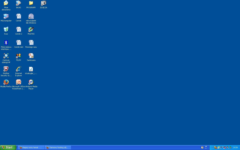 DELL Inspiron 1720 - Pasy i nieczytelne czcionki na monitorze