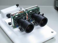 System scalaj�cy wideo z dw�ch kamer w celu uzyskania obrazu 3D