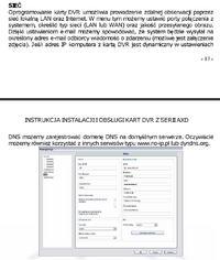 Karta DVR AXD PCI504A-J wysyłanie e-mail