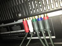 SHARP LC-52XL2E - Component HD Xbox 360 - Niebieski obraz.
