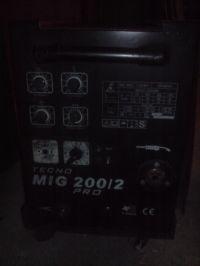 Migomat TECNO MIG 200/2/PRO ID - podłączenie przewodów do wyłącznika głównego