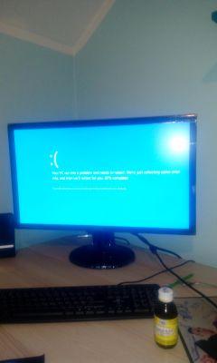 Dlaczego po zmianie płyty na MS 7848, PC nie startuje i słychać 4 piknięcia?