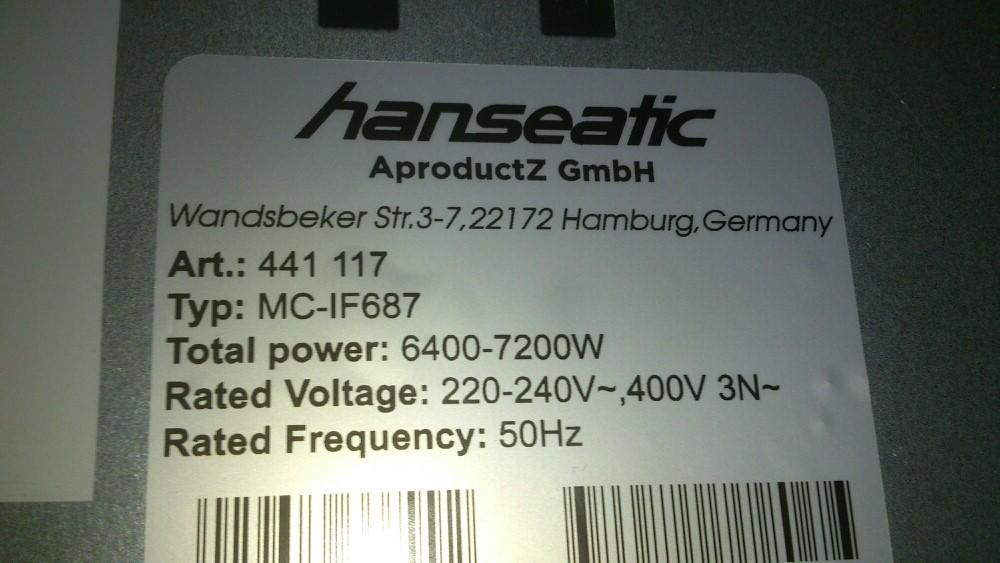 Hanseatic MC-IF687 - Wypala tranzystory